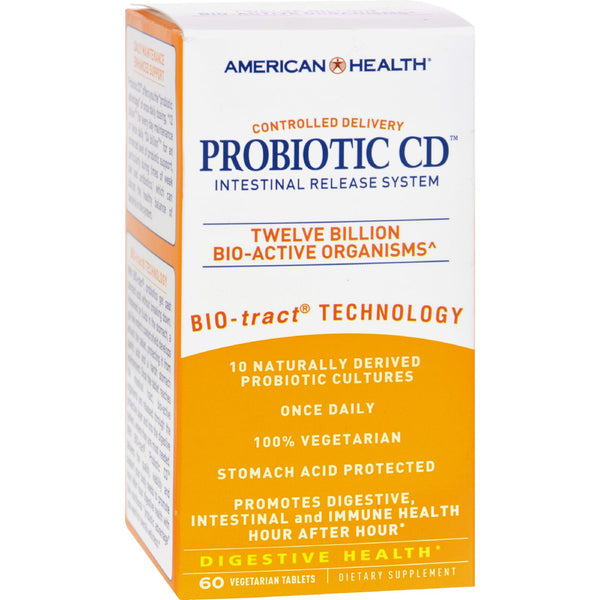 American Health Probiotic CD Intestinal Release System - 60 Vtablets