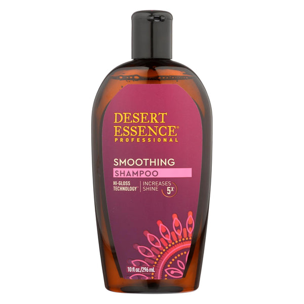 Desert Essence - Shampoo -Smoothing - 10 fl oz