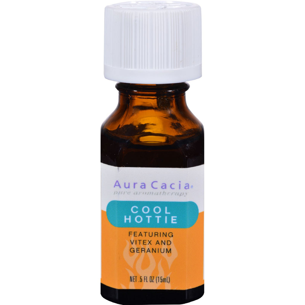Aura Cacia Essential Solutions Oil Cool Hootie - 0.5 fl oz