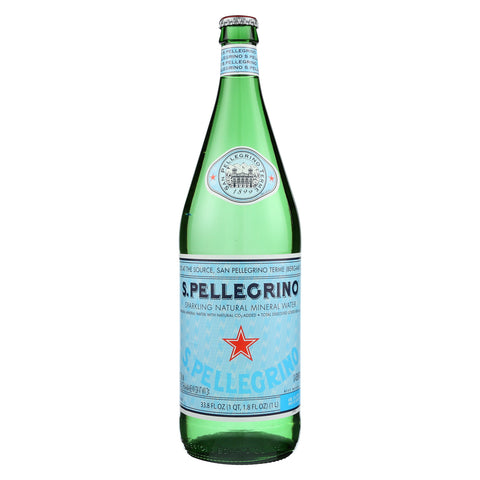 San Pellegrino Mineral Water - Case of 12 - 1 Liter