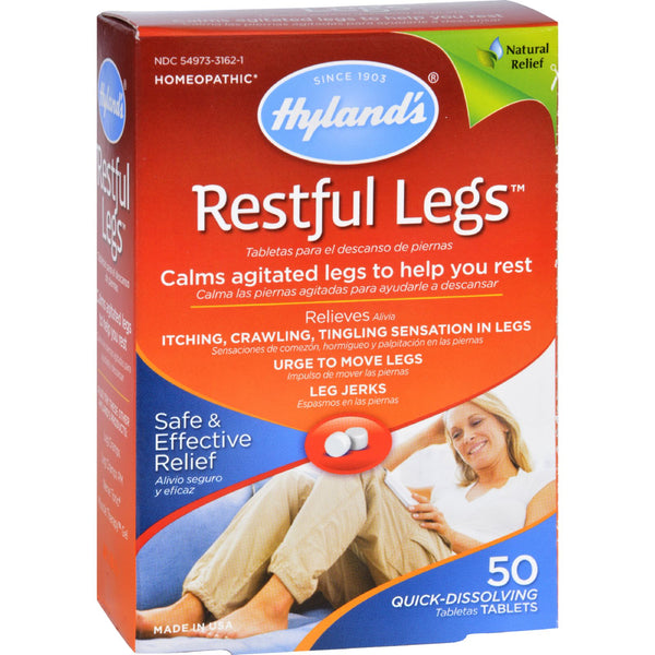 Hylands Homeopathic Restful Legs - 50 Tablets