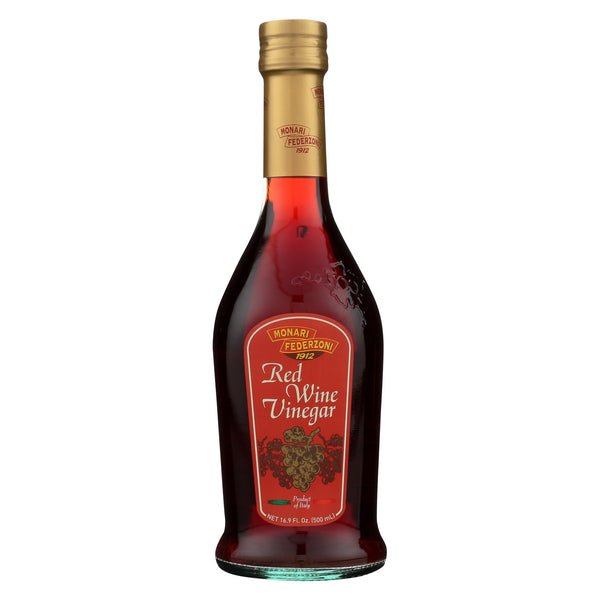 Monari Federzoni Red Wine Vinegar - Case of 6 - 16.9 Fl oz.