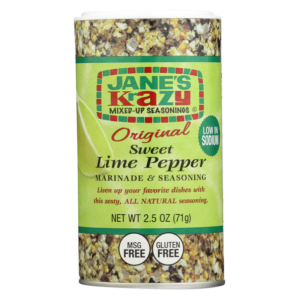 Jane's Marnde - Sweet Lime Pepper - Case of 12 - 2.5 oz