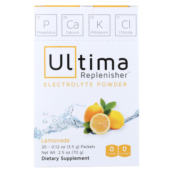 Ultima Replenisher Electrolyte Powder - Lemonade - 20 count