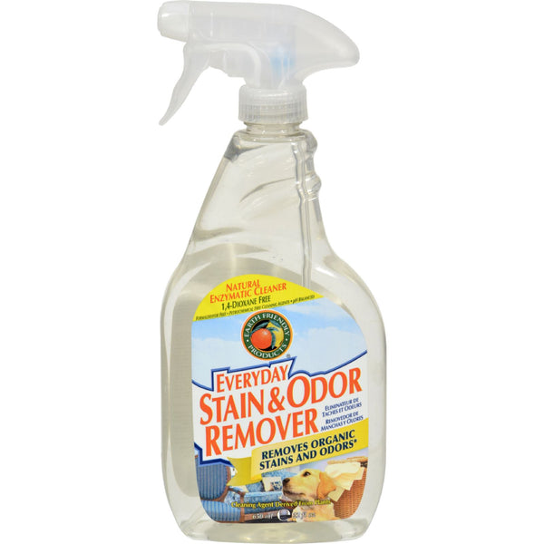 Earth Friendly Stain and Odor Remover Spray - Case of 6 - 22 fl oz