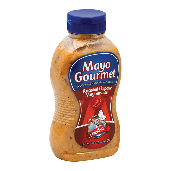 Mayo Gourmet Roasted Chipotle Mayonnaise - Case of 6 - 11 oz.