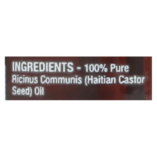 Kreyol Essence Castor Oil - Black - 100% Pure - 3.4 fl oz