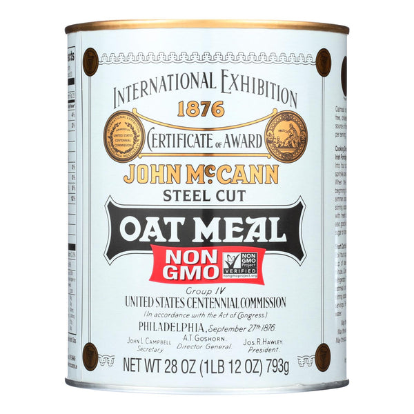 Mccann's Traditional Steel Cut Irish Oatmeal  - 1 Each - 28 OZ