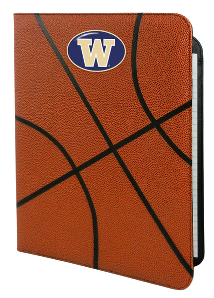 Washington Huskies Classic Basketball Portfolio - 8.5 in x 11 in - Gamewear