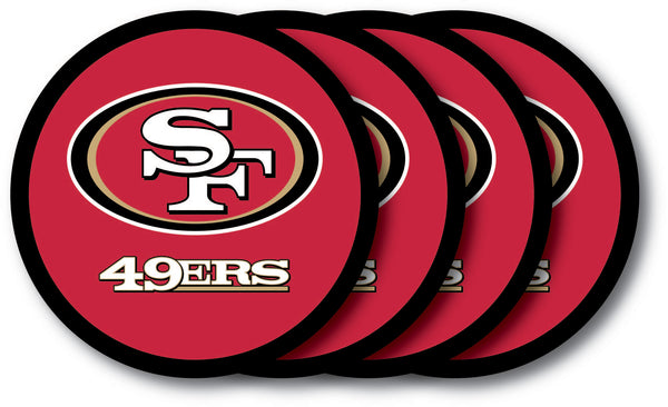 San Francisco 49ers Coaster 4 Pack Set - Duck House