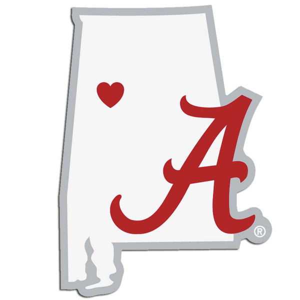 Alabama Crimson Tide Decal Home State Pride Style - Siskiyou