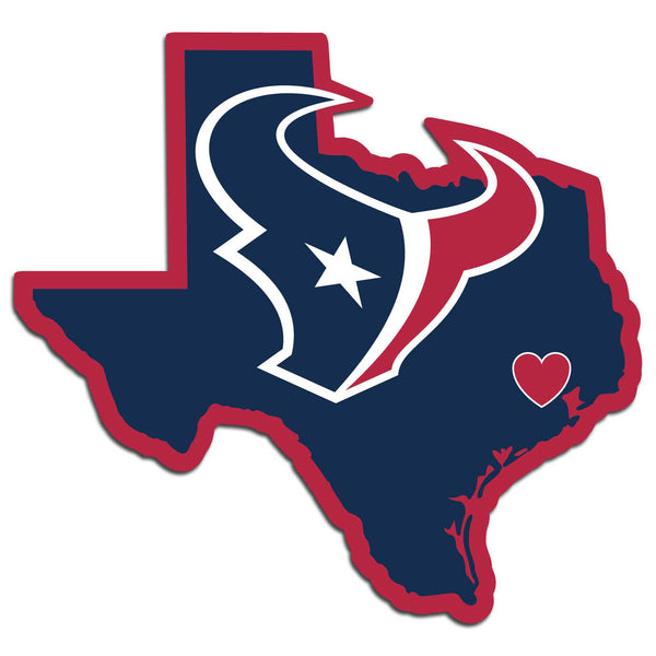 Houston Texans Decal Home State Pride Style - Siskiyou