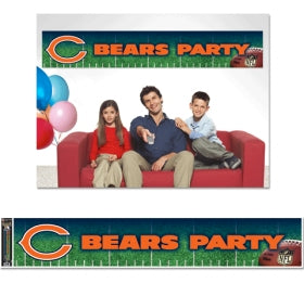 Chicago Bears Banner 12x65 Party Style - Wincraft