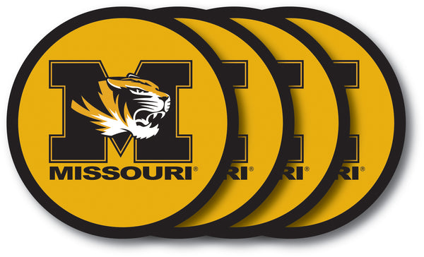 Missouri Tigers Coaster Set - 4 Pack - Duck House