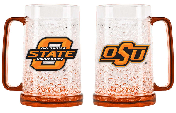Oklahoma State Cowboys Mug Crystal Freezer Style - Duck House