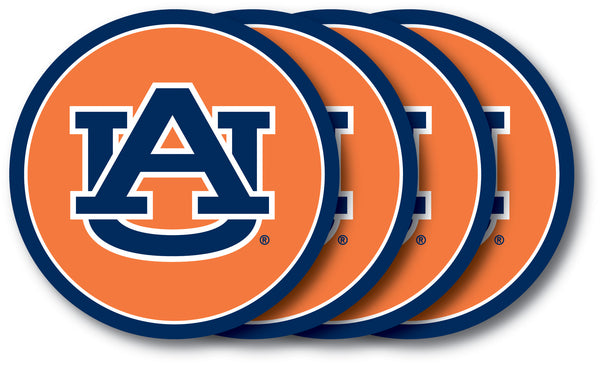 Auburn Tigers Coaster Set 4 Pack - Duck House
