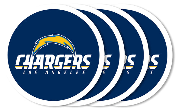 Los Angeles Chargers Coaster Set 4 Pack - Duck House