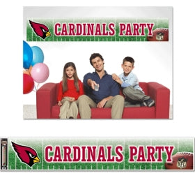 Arizona Cardinals Banner 12x65 Party Style - Wincraft