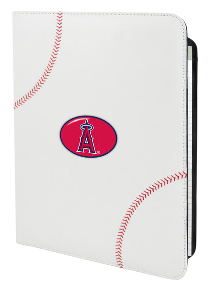 Los Angeles Angels Classic Baseball Portfolio - 8.5 in x 11 in - Gamewear