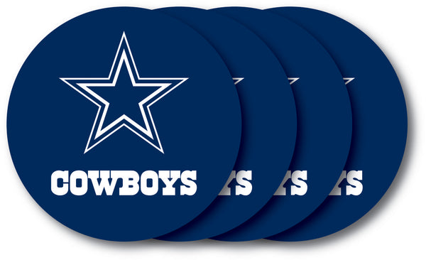 Dallas Cowboys Coaster 4 Pack Set - Duck House