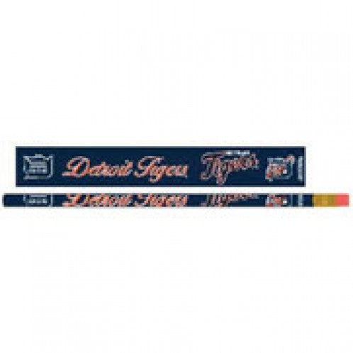 Detroit Tigers Pencil 6 Pack - Wincraft
