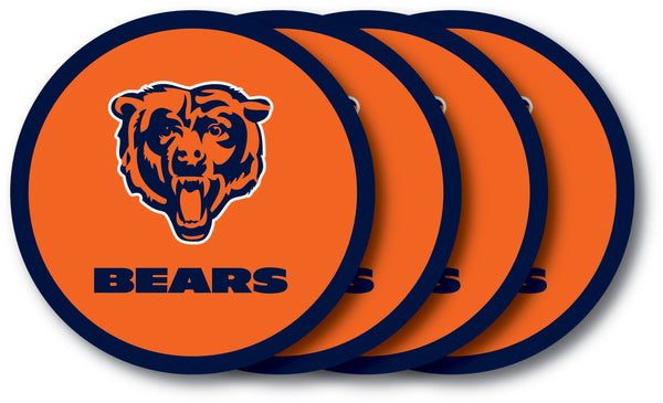 Chicago Bears Coaster 4 Pack Set - Duck House