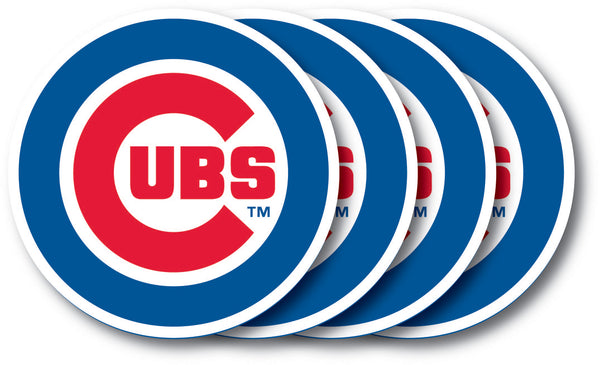 Chicago Cubs Coaster Set - 4 Pack - Duck House