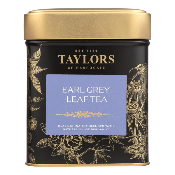 Taylors Of Harrogate Earl Grey Loose Leaf Tea - Case of 6 - 4.4 OZ