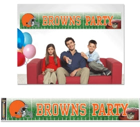 Cleveland Browns Banner 12x65 Party Style - Wincraft