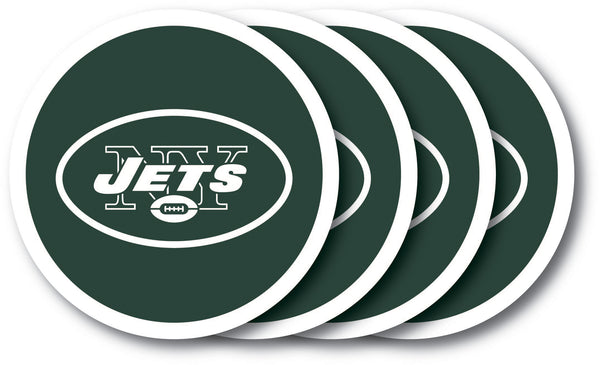 New York Jets Coaster 4 Pack Set - Duck House