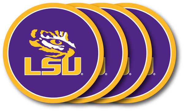 LSU Coaster Set 4-Pk. - Duck House