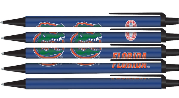 Florida Gators Click Pens - 5 Pack - Pro Specialties Group