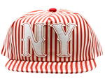Red Stripes Snapback Hat And Cap