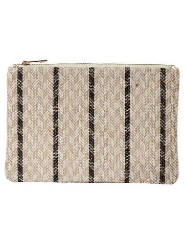 Mulit Color Tribal Pattern Woven Clutch Bag Accessory