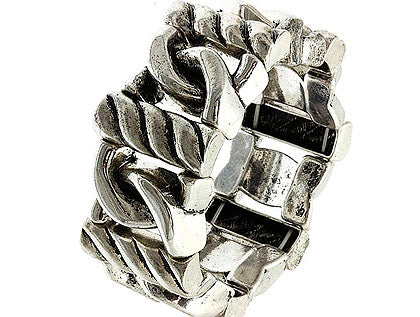 Sliver Stretch Metal Bracelet Image#2