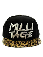 Brown Message Milli Tage Hat And Cap
