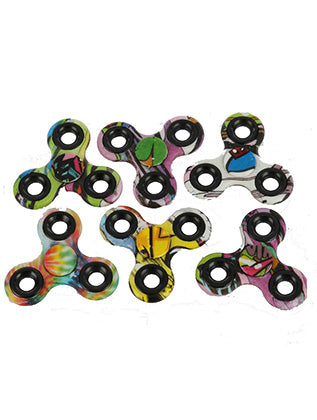 Mulit Color High Quality 6 Pcs Polybag Fidget Spinner General Merchandise Image#2