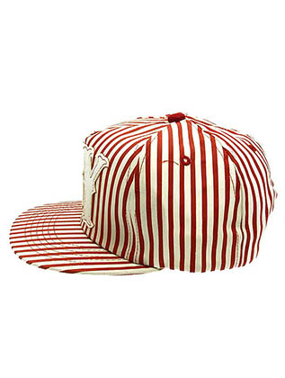 Red Stripes Snapback Hat And Cap Image#2