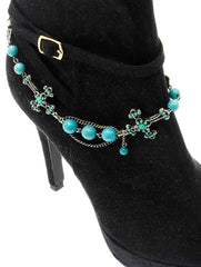 Turquoise Shoe Chain Boot Chain General Merchandise