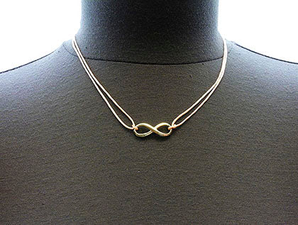 Peach Link Cord Necklace Image#2
