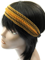 Brown Woven Head Band Hair Accessory