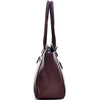 Image of Dasein® Faux Leather Shoulder Bag with Front Zipper Pocket