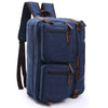 Image of Dasein Vintage Unisex Canvas Multi-purpose Bag- Backpack, Briefcase, Rucksack, Messenger Bag