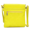 Image of Double Pockets Gold-Tone Tassel Messenger Bag