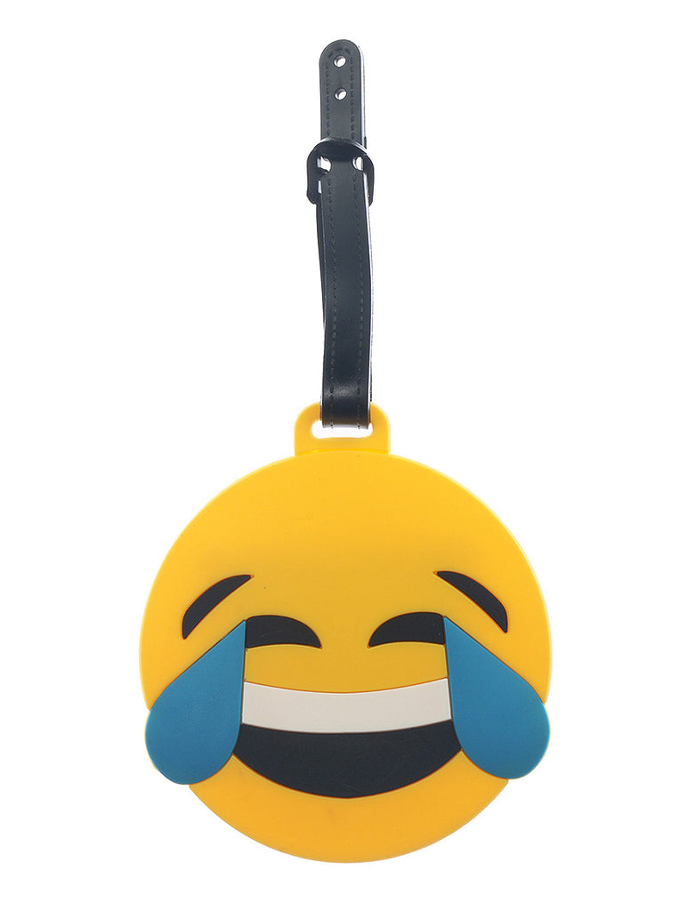 Mulit Color Emoji Face Rubber Bag Tag General Merchandise