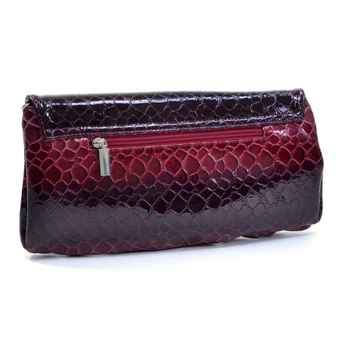 Snake Skin Purse Clutch Evening Bag Purse