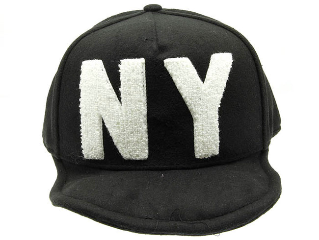 Black Snapback Celebrity Hat And Cap