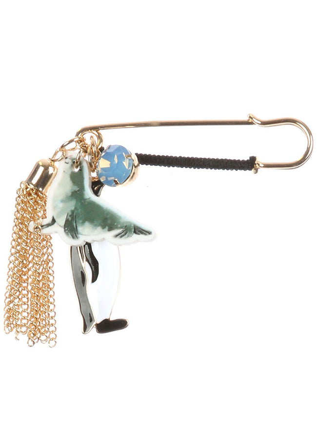 Mulit Color Marine Animal Charm Pin And Brooch