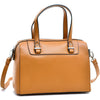 Image of Dasein® Barrel Body Satchel with Removable Shoulder Strap