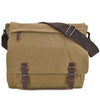 Image of Dasein Vintage Unisex Large Canvas Messenger Bag/Cross body